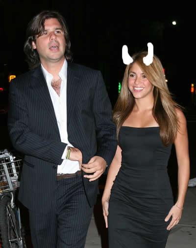 Shakira cornuda engañada por el novio