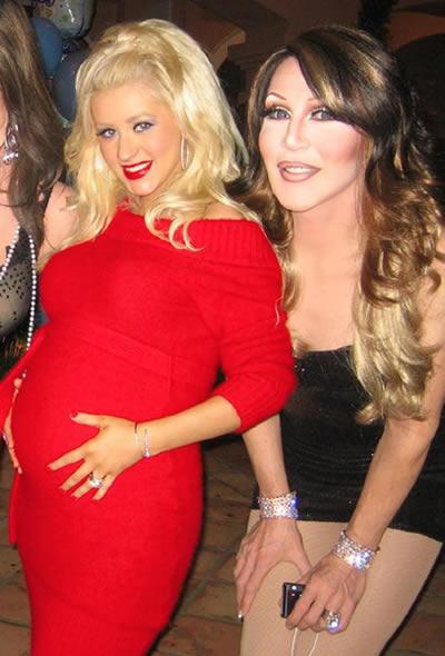 Babyshower de Christina Aguilera