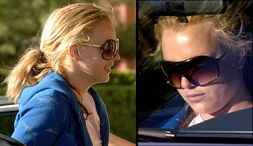 Britney post cirugía