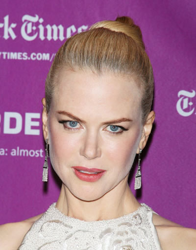 Nicole Kidman negó tener cirugías