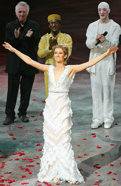 Celine Dion dijo adiós