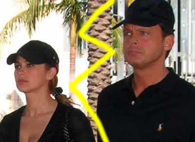 separación de Luis Miguel y Aracely