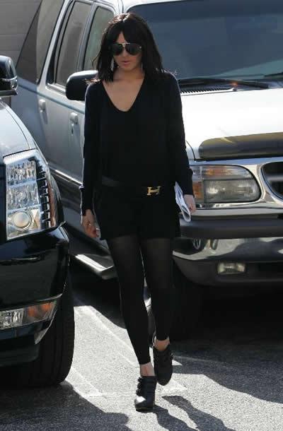 Lindsay Lohan con peluca 4