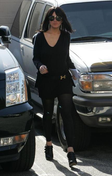 Lindsay Lohan con peluca 5