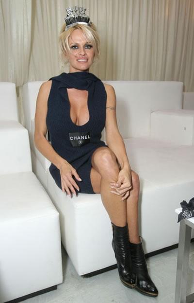 El Año Nuevo de Pamela Anderson