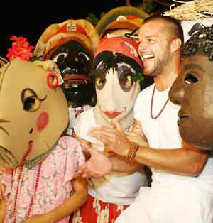 Ricky Martin en las fiestas de la Calle de San Sebastián