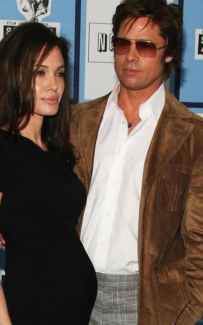 Angelina Jolie confirmó su embarazo