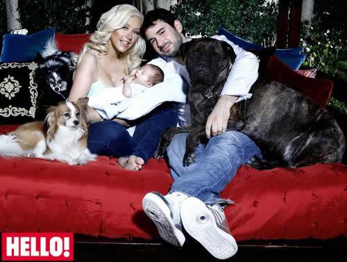 El hijo de Christina Aguilera 3