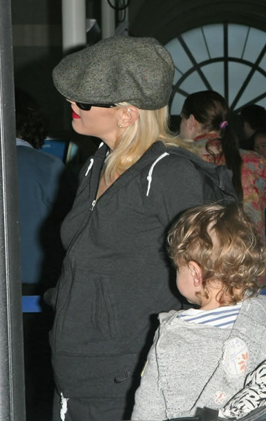 Gwen Stefani está embarazada 2