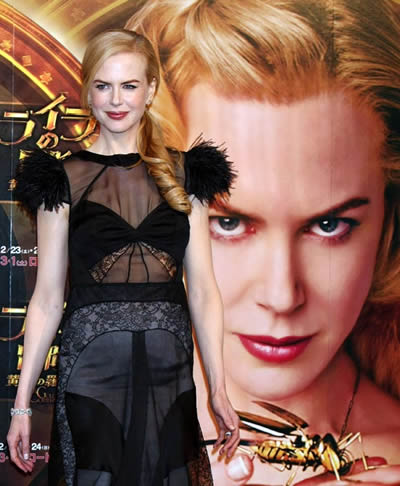 Nicole Kidman muestra su pancita