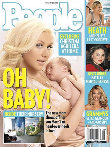 El hijo de Christina Aguilera