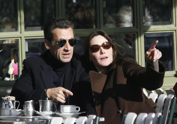 La boda de Carla Bruni y el Presidente Francés