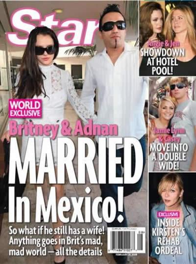 La boda secreta de Britney Spears
