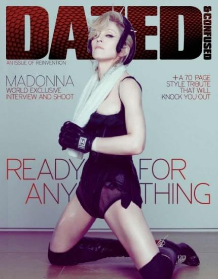 Madonna en portada