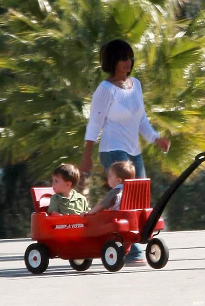 Britney volvió a ver a sus hijos 4