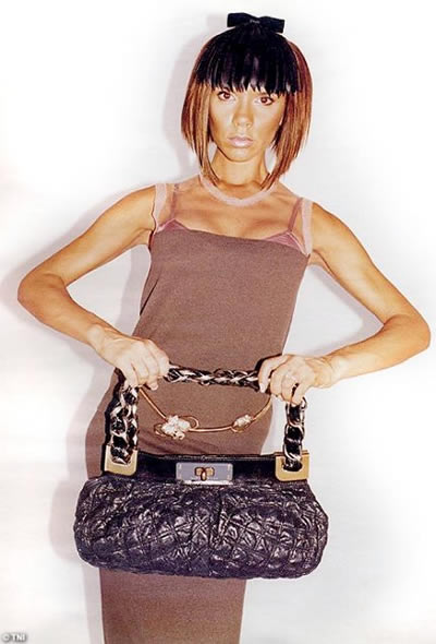Victoria Beckham de modelo