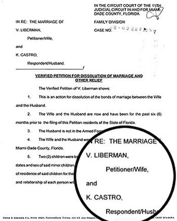 Cristian Castro se divorcia - Demanda