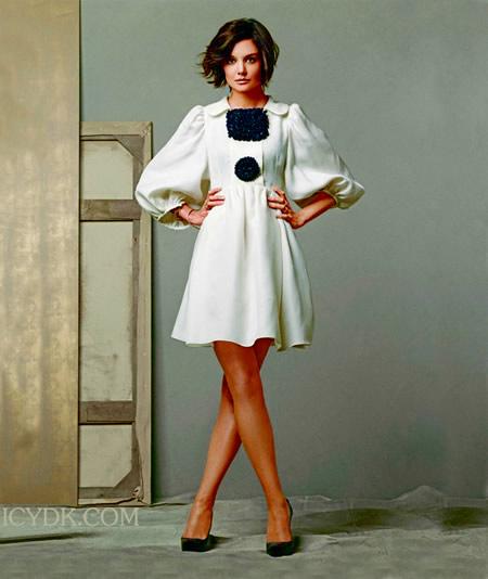 Katie Holmes para la revista Style
