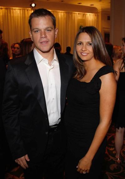 Matt Damon será padre