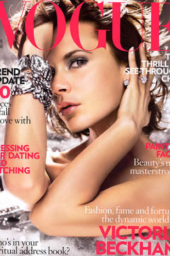 Victoria Beckham en portada