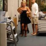 Britney en gimnasio