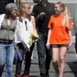Ugly Betty con Lindsay Lohan 2