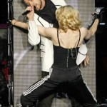 Madonna y Justin Timberlake en vivo
