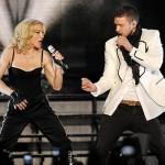 Madonna y Justin Timberlake en vivo 3
