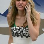 Miley Cyrus set de Hanna Montana