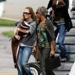 Jennifer Lopez y sus gemelos Max y Emme