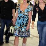 Britney causó revuelo en el aeropuerto 8