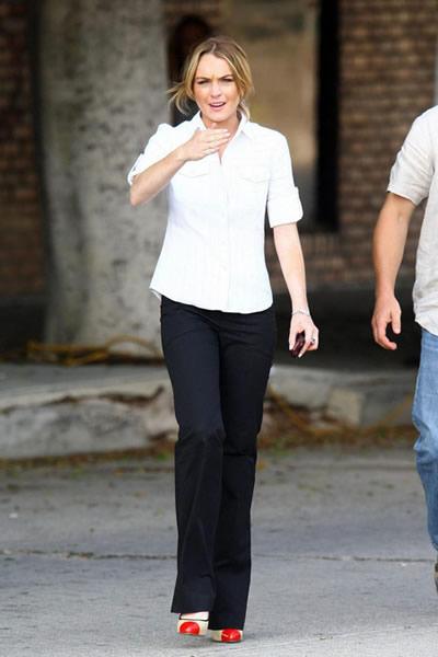 La hermana secreta de Lindsay Lohan 5
