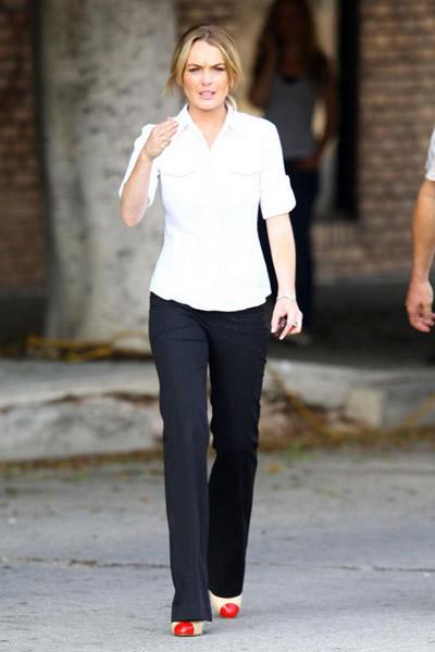 La hermana secreta de Lindsay Lohan 7