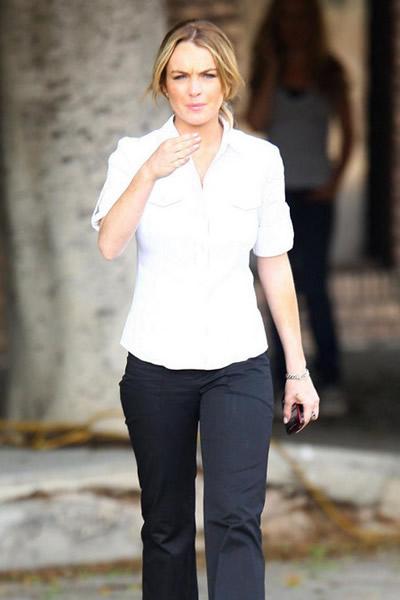 La hermana secreta de Lindsay Lohan 8