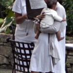 Halle Berry y su hija 4