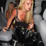 Britney mostrando sus bragas 4
