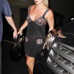 Britney mostrando sus bragas 6