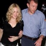 Madonna y Guy van a cenar
