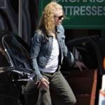 Nicole Kidman reapareció tras dar a luz