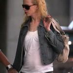 Nicole Kidman tras dar a luz