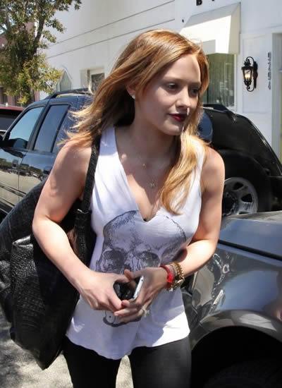 Hilary Duff nuevo look 4