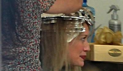 Hilary Duff nuevo look port