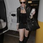 Lindsay Lohan fuera de rehab 2