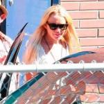 Lindsay Lohan fuera de rehab 3