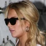 Lindsay Lohan fuera de rehab port