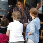Miley Cyrus filmando 5