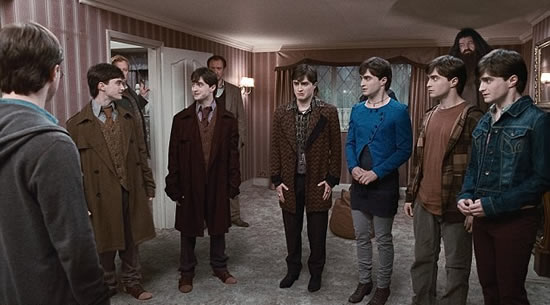(A Punto de escapar) Harry Potter And The Deadly Hallows