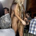 Lada Gaga vestido de cabello 3