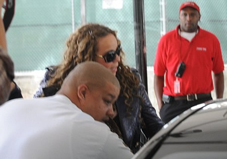 Mariah Carey tobillo torcido