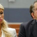 Paris Hilton se declaro culpable de posesion port